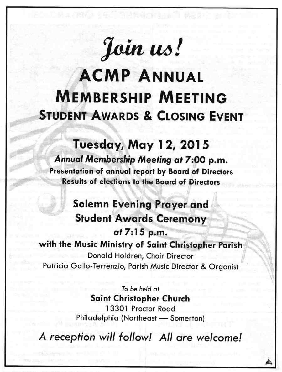 ACMP AWARDS